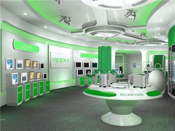 OPPO展厅设计