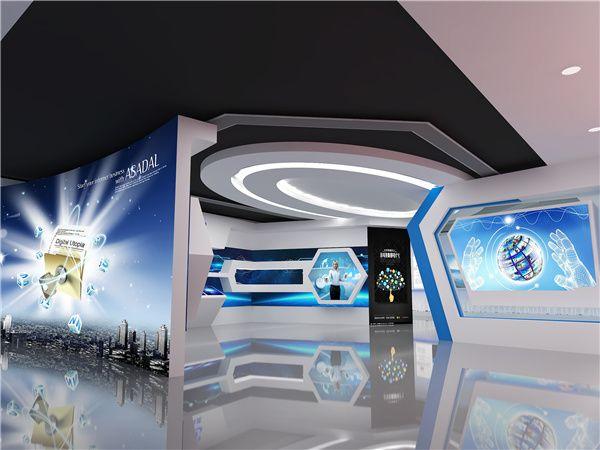 杰赛展厅设计-珠海捷创国际会展服务有限公司