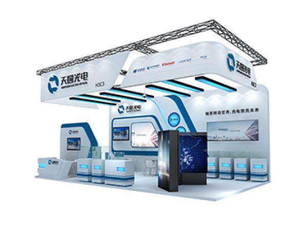 2018天圆光电珠海航展展位设计搭建-珠海捷创国际会展服务有限公司